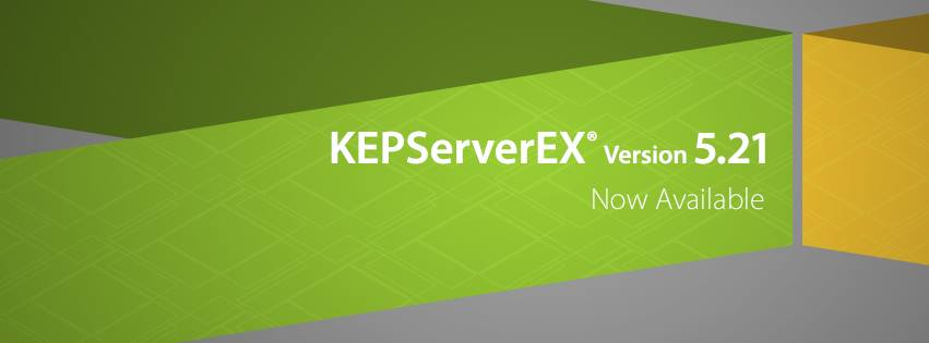 KEPServerEX Version5.21 Now Available